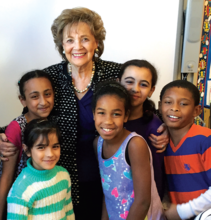 Matilda Cuomo and children